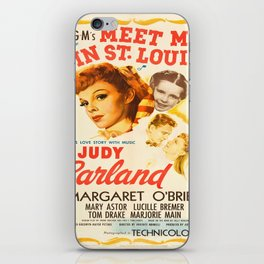 Vintage poster - Meet Me in St. Louis iPhone Skin