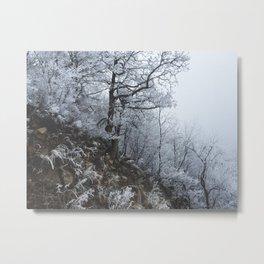 Blizzard // #TravelSeries Metal Print