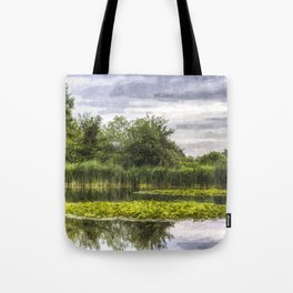 Lily Pond Art Tote Bag