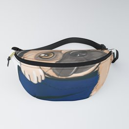 Cute funny Puppy Pocket Fanny Pack