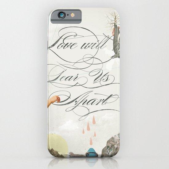 L.W.T.U.A (Love will tear us apart) iPhone & iPod Case