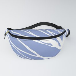 Tree Silhouette Periwinkle Blues Fanny Pack