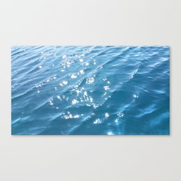 Sun Kissed Ripples Canvas Print