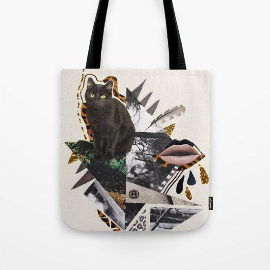 AYAHUASCA CAT Tote Bag