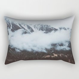 On a cloudy day - Landscape and Nature Photography Rectangular Pillow
