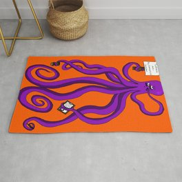 Protest octopus Rug