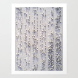 Tree Braille Art Print