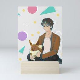Taeevee Mini Art Print