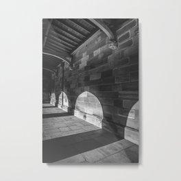 Walkway - University of Sydney Metal Print