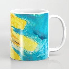 Free Flowing Sunflower Coffee Mug