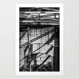 Below the Bourne Art Print