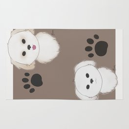 Pattern of Pups Rug