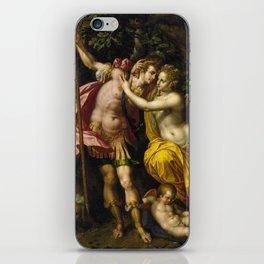 Hendrick De Clerck - Venus And Adonis. iPhone Skin