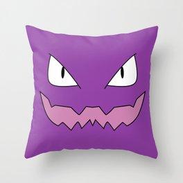 Haunter! Throw Pillow