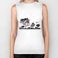 safari Biker Tanks featuring Safari by Kaitlynn Marie