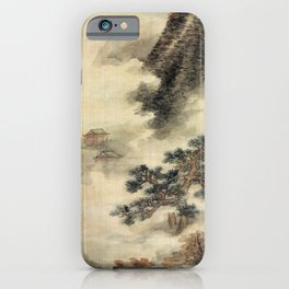 Lan Ying Clearing Autumn Mists in the Chu Mountains iPhone Case