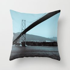 Across the Ocean Throw Pillow