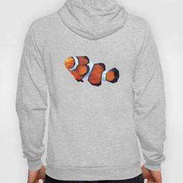 Geometric Abstract Clown Fish  Hoody