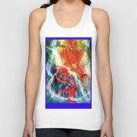 perfume Tank Tops featuring Perfume by Janet Morgan