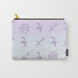 Pastel Sagittarius Carry-All Pouch