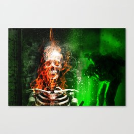 Trick or Treat in Anbar Province.  Canvas Print