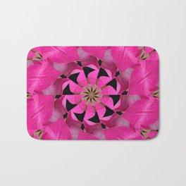 Pink Hydrangea Kaleidoscope Bath Mat