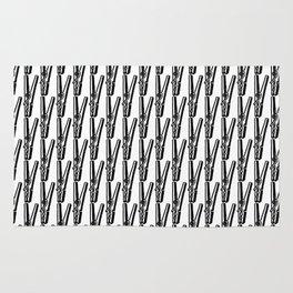 Clothespin Rug