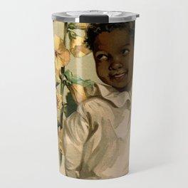 African Girl Maud Humphrey Travel Mug