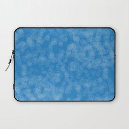 Blue Illusion - Acessórios e Moda Cor Sólida Laptop Sleeve