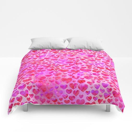 Heart Pattern 02 Comforters