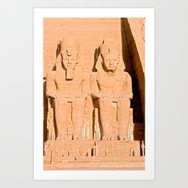 Great Temple of Abu Simbel - Egypt Art Print