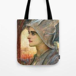 "Sir William Blake Richmond ""St Joan of Arc"" Tote Bag"