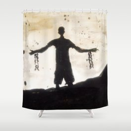 Freedom in You Shower Curtain