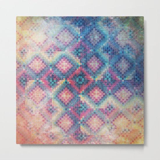 c square Metal Print