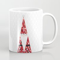 santa Mugs featuring SANTA by Pardabon