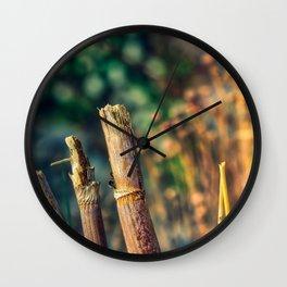 Broken Sun Wall Clock
