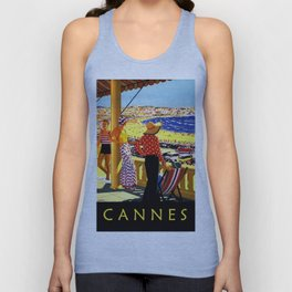 Glorious Days of Cannes Unisex Tank Top