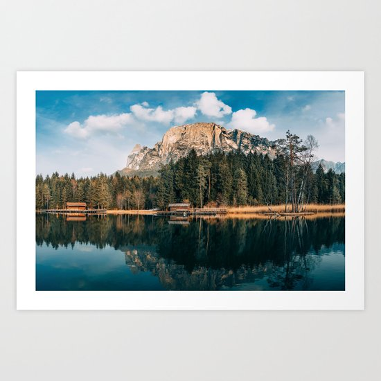 wanderlust landscape Art Print