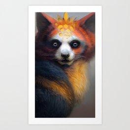 Exotic Fox Art Print