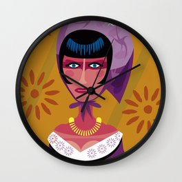Actress in Constantinople Wall Clock