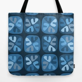 blue boomerangs Tote Bag