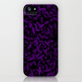 Cluster of Tetrapods (COLORS 1.4) iPhone Case