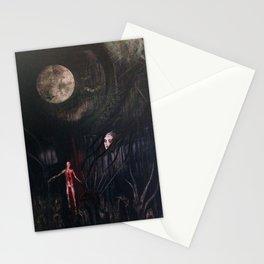 La petite mort de la luna Stationery Cards
