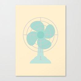 #86 Fan Canvas Print