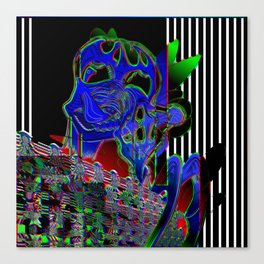 Walls RGB Canvas Print