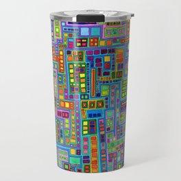 Tiled City Travel Mug