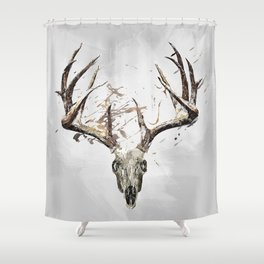 King of the Forrest - Trophy Buck - Deer Shower Curtain