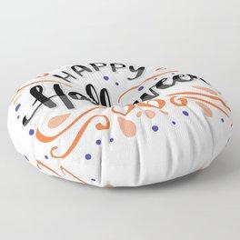 Happy Halloween Floor Pillow