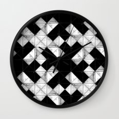 Marbled tile Wall Clock