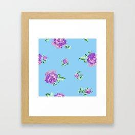 Blue Joys of Spring Framed Art Print